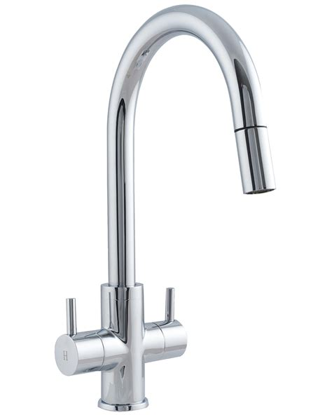 Kitchen Mixer Tap by Astracast Shannon Monobloc Pull Out Spray Kitchen Sink