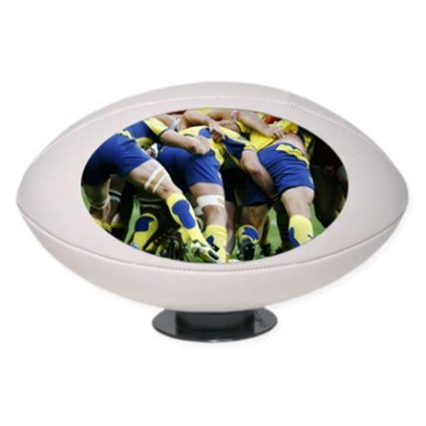 rugby de bureau ballon de rugby personnalisé avec une photo ou un texte