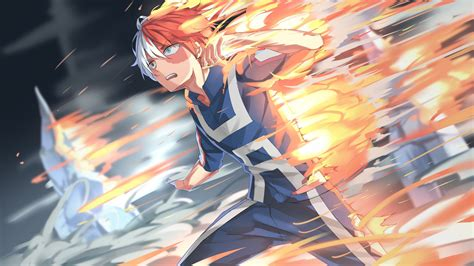 hero academia fire  hd wallpapers hd wallpapers