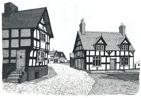 house drawings 18 decorative tudor house drawing home building plans