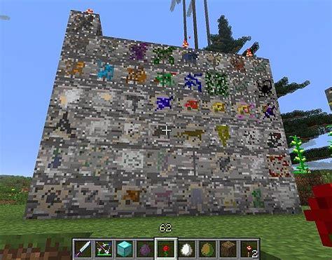minecraft spawn mod ore mods orespawn 9minecraft ores screenshots items