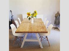 Reclaimed Industrial Chic AFrame 68 Seater Solid Wood