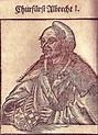 Hertug av Sachsen Albrecht I von Anhalt, Herzog von ...