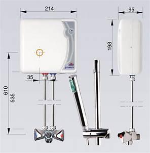 Durchlauferhitzer Dusche 230v : klein durchlauferhitzer 5 5 kw drucklos mit dusch armatur epj p primus 230v ebay ~ A.2002-acura-tl-radio.info Haus und Dekorationen