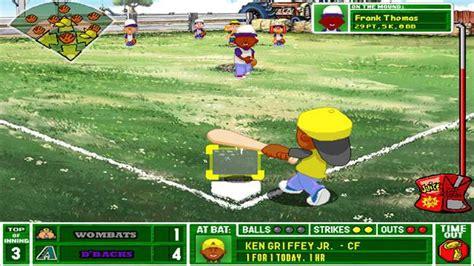 Backyard Baseball 2003 Game Free Download Hienzo