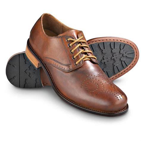 mens light brown oxfords men 39 s h s trask choteau spade oxfords light brown