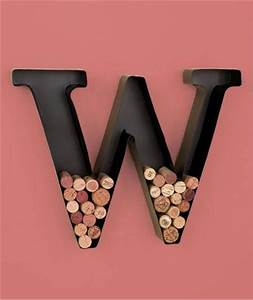 unique metal monogram letter shaped initial wine cork With letter c wine cork holder