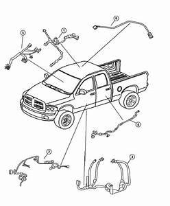 Dodge Dakota Wiring  Body   4 Speakers    4 Speakers