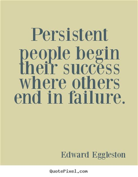 quotes  success persistent people