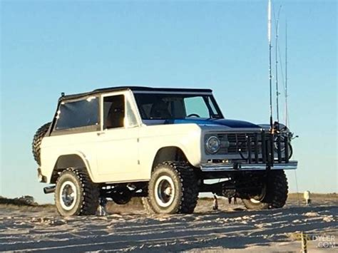 classic  ford bronco removable soft top  sale