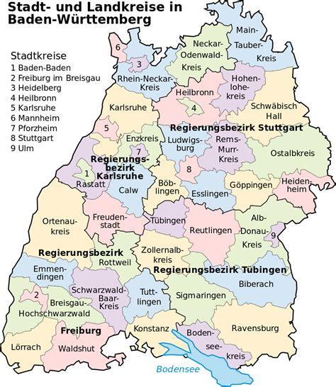 Ziel ist es, die bedeutung von wahlen in einem demokratischen rechtsstaat hervorzuheben und damit. Bestand:Landkreise Baden-Wuerttemberg.svg - Wikikids