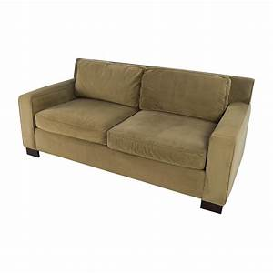 50 off west elm west elm classic henry beige cushion for Henry sofa sectional west elm