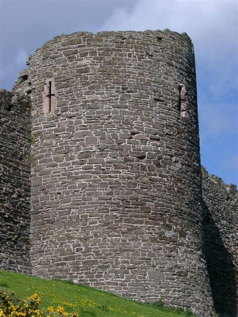 stock photo   fortified stone tower  conway