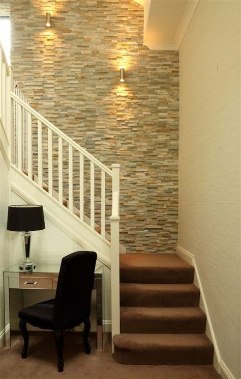 stairway wall decorating ideas staircase transitional