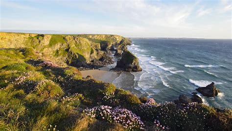 cornwall sea coast image  stock photo public
