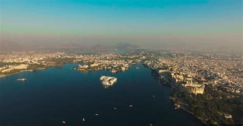udaipur captured   drone video    travel