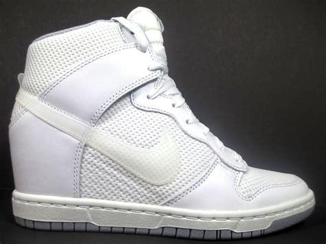 Nike Dunk Sky Hi Women's Size 7 5 Shoes White Wolf Grey