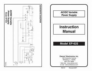 Elenco Xp Dc Variable Voltage Power Supply Manual