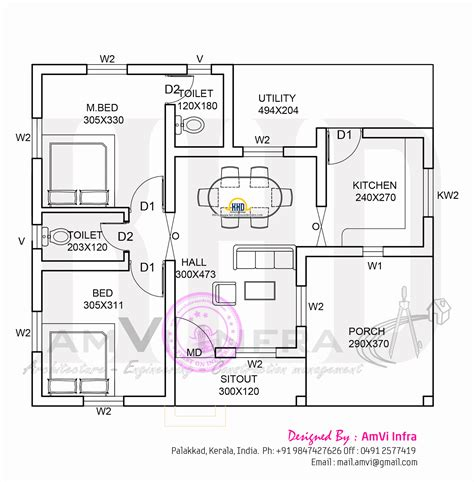 free floor plan house design keralahousedesigns