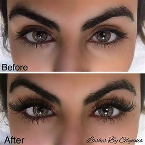 This Lash Extension Before and after is Beautiful. #lashes ...