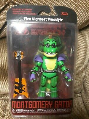 Funko FNAF Security Breach Figure Montgomery Gator New ...
