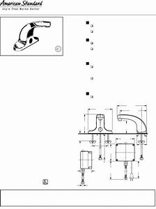 American Standard Indoor Furnishings 605xtmv User Guide