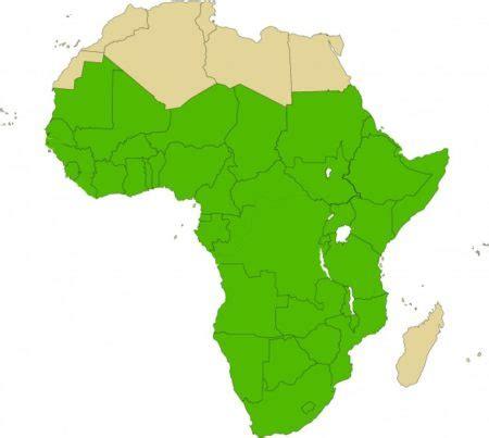 Carte Du Monde Afrique Subsaharienne by Afrique Subsaharienne Arts Et Voyages