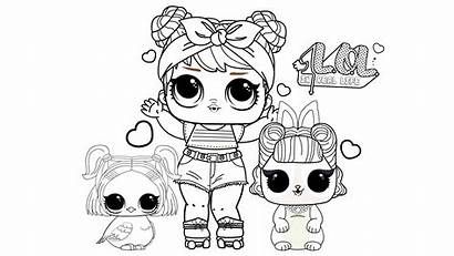 Coloring Pages Lol Draw Dolls Doll Surprise