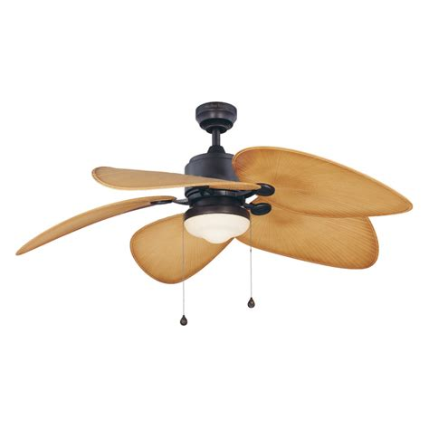 outdoor ceiling fan no light shop harbor breeze 52 in freeport aged bronze outdoor