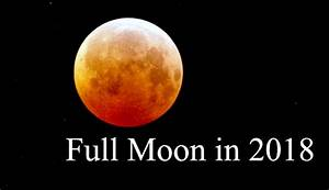 Moon Phases In 2018 Full Moon Calendar Tarot Astrology