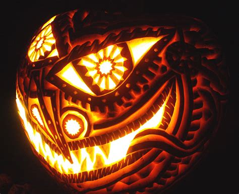 30+ Best Cool, Creative & Scary Halloween Pumpkin Carving
