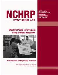 Effective Public Involvement Using Limited Resources ...