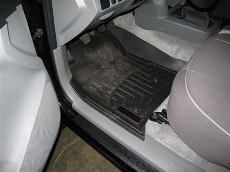 Weathertech Floor Mats Tacoma by Weather Tech Mats For Manual Trans Tacoma World