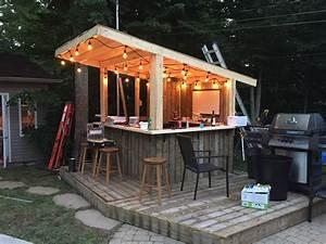Bar Exterieur En Bois : bar exterieur en bois ides ~ Premium-room.com Idées de Décoration