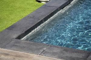 Decoration margelle piscine noire 86 lille margelle for Margelle noire pour piscine 5 terrasse piscine design