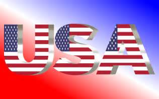 American Clip Art USA Flag
