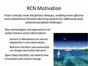 C7.05: Ocean Observations Research Coordination Network ...