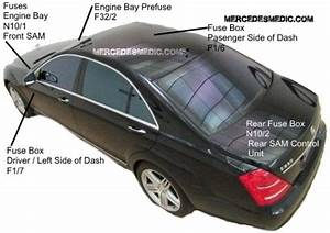 2009 Mercedes E550 Fuse Diagram