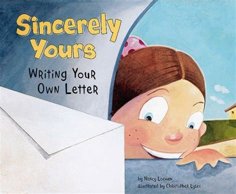sincerely  writing   letter writers toolbox