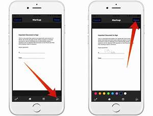 how to scan and sign documents with ios 11 notes app With how to sign documents on iphone