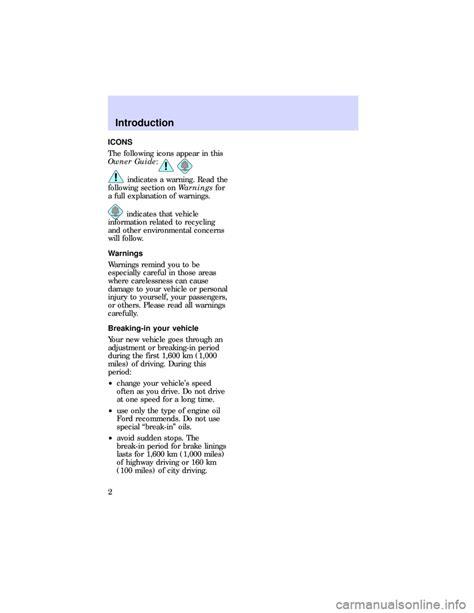 motor auto repair manual 1989 ford escort user handbook ford escort 1997 7 g owners manual