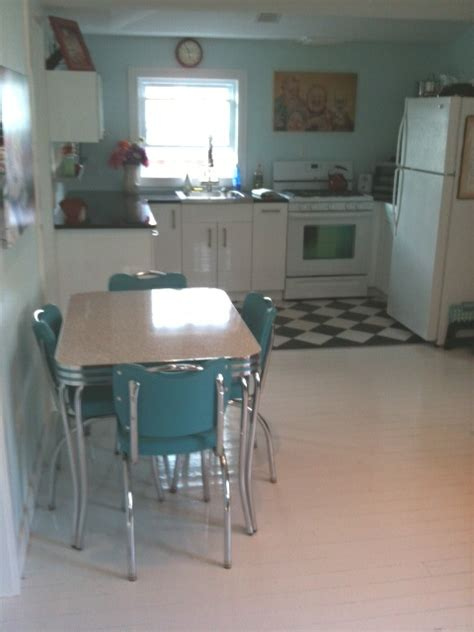 retro kitchen furniture vintage kitchen table and chairs set dinette sets for