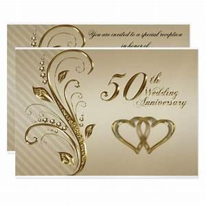 invitation cards golden wedding anniversary gallery With samples of wedding anniversary cards