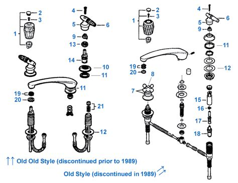 moen bathroom faucet parts diagram moen widespread