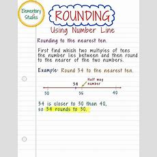 Elementary Studies Rounding Of Numbers To The Nearest 10 And 100