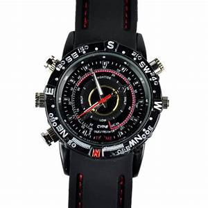 Mini Spy Waterproof Wrist Watch Hidden Digital Camera ...