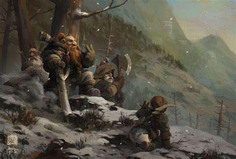 Fantasy Art, Dwarfs, Digital Art Wallpapers Hd / Desktop