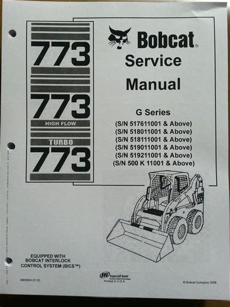 bobcat  skid steer loader service manual turbo book form  finney equipment  parts