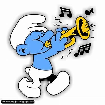 Clipart Smurfs Smurf Clip Comics Schlumpf Papa