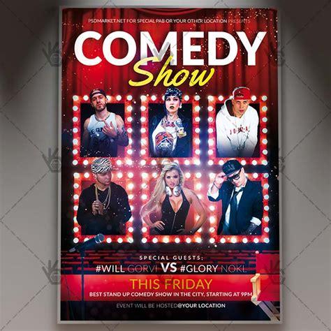 Show Template by Comedy Show Flyer Psd Template Psdmarket